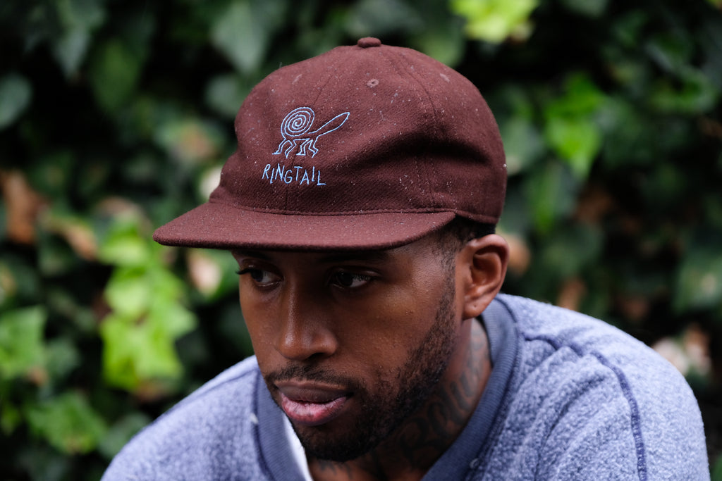 FairEnds Brown Wool Cap