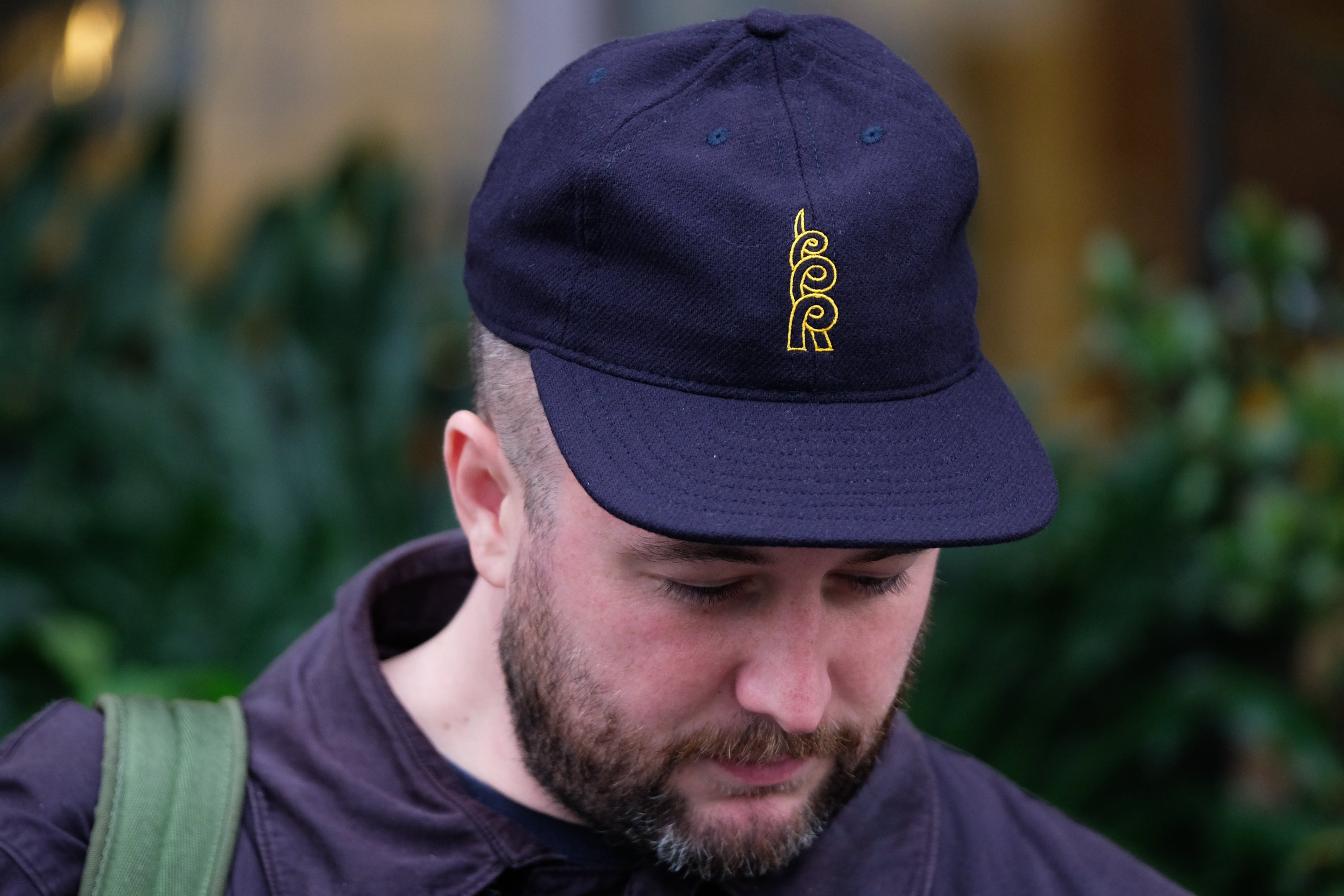 FairEnds Navy Wool Cap