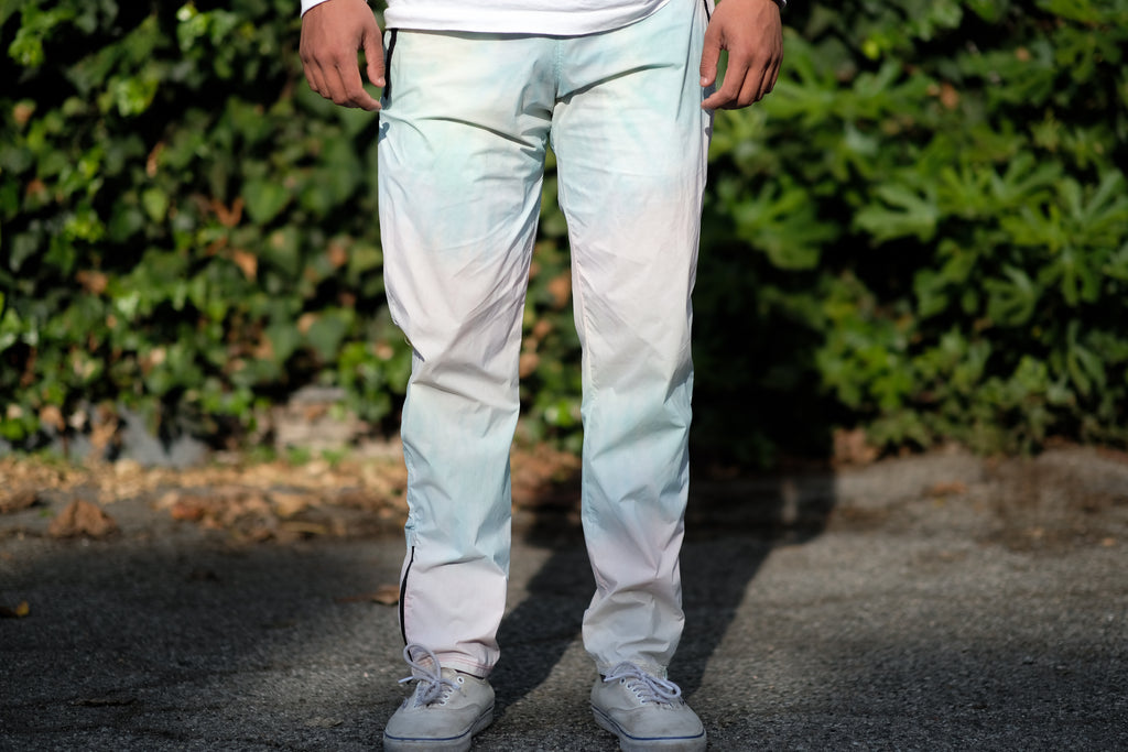 Multicolor Tie Dye Packable Camp Pants