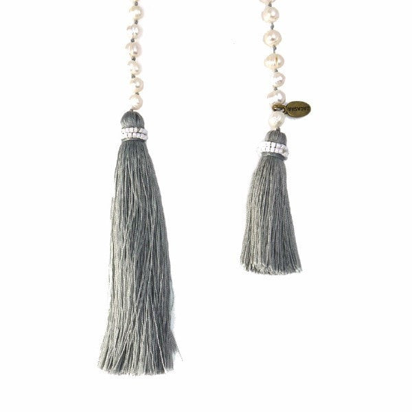 Fresh Water Pearl Wrap with Tassel