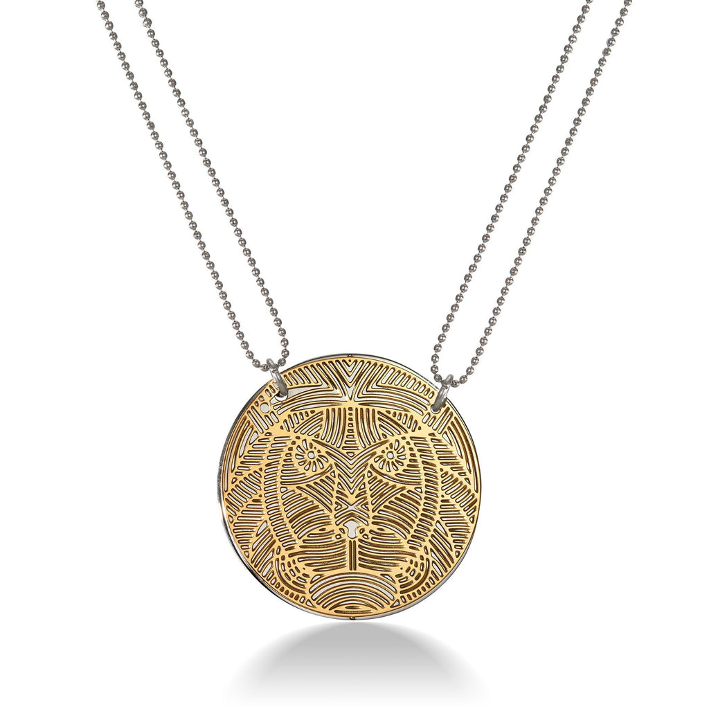 Tiger Pendant Necklace