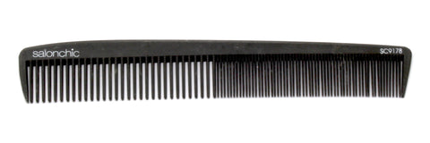 Salonchic Carbon Comb  7.25""