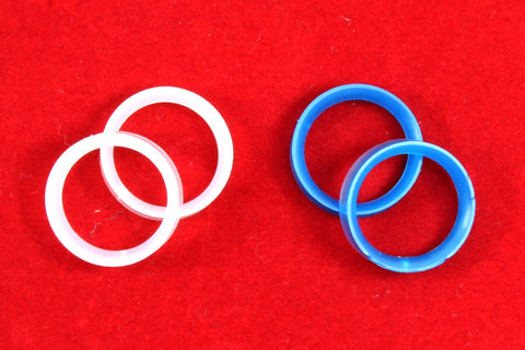 Finger Sizing Rings ~ Package of 10