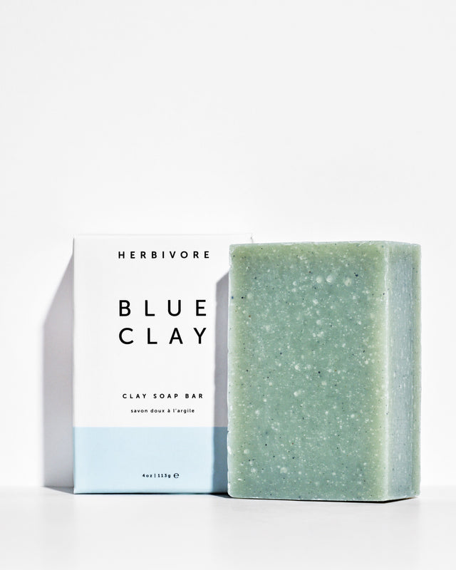 Herbivore / Blue Clay Cleansing Bar Soap