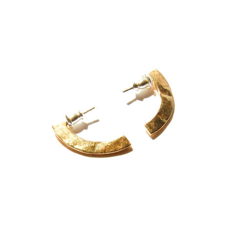 Odette / Piet Studs in Brass