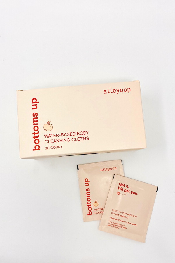 alleyoop / Bottoms Up Body Cleansing Cloths