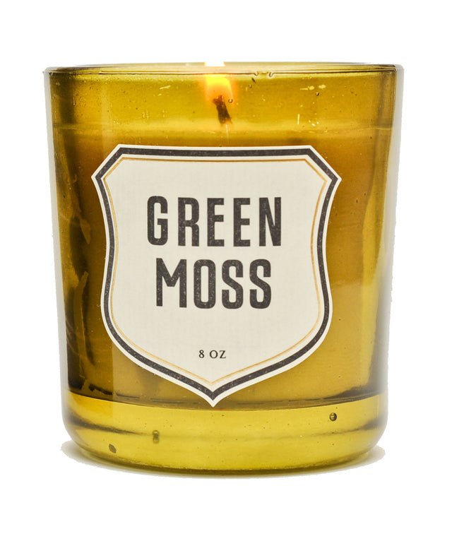 Izola / Green Moss Candle