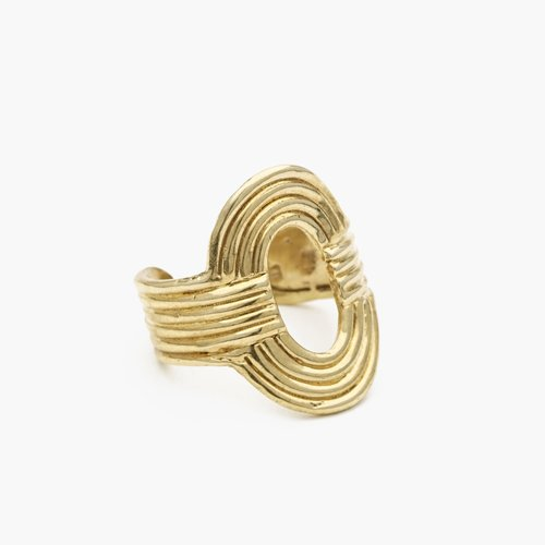 Odette / Aalto Ring in Brass