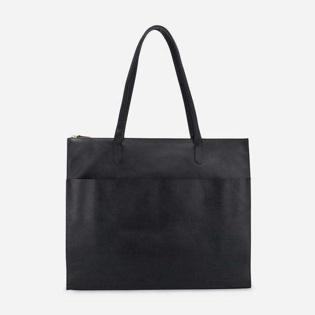 Minor History / Everything Zip Tote Veg Tanned Black