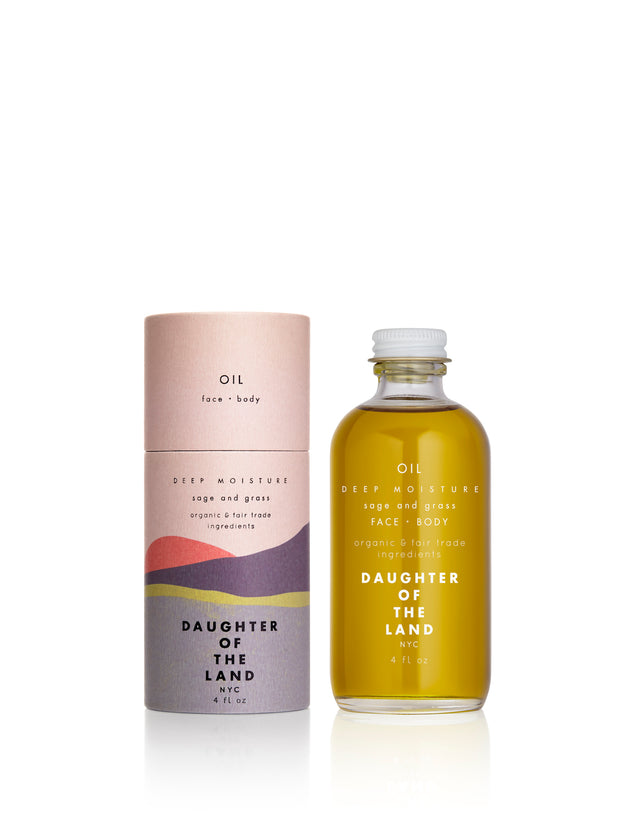 Daughter of the Land / Deep Moisture Face + Body Oil