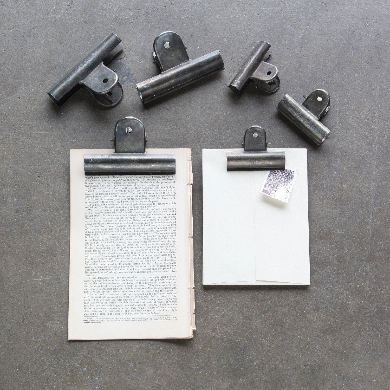 HomArt / Large Book Keepers Metal Clips