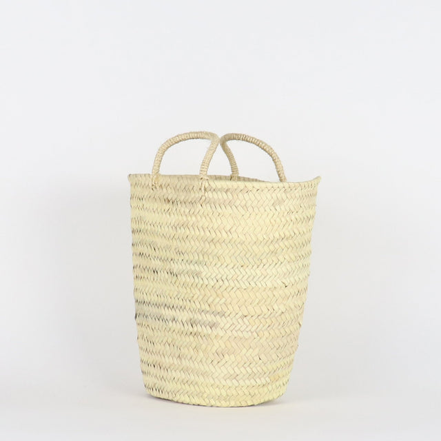 SOCCO / Portland Straw Bucket Bag