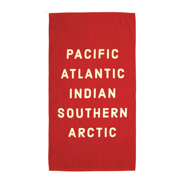 Izola / Pacific, Atlantic Beach Towel