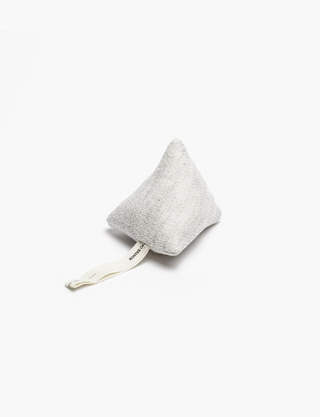 Morihata / Claire Plush Rattle in Silver Grey