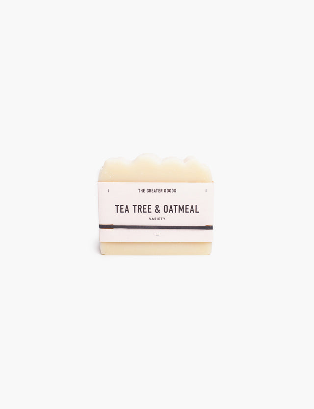 Greater Goods / Tea Tree Oatmeal Soap