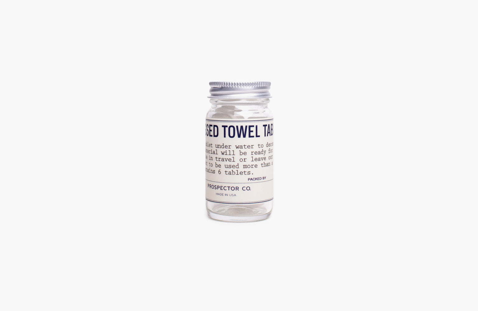 Prospector & Co. / Compressed Towel Tablets