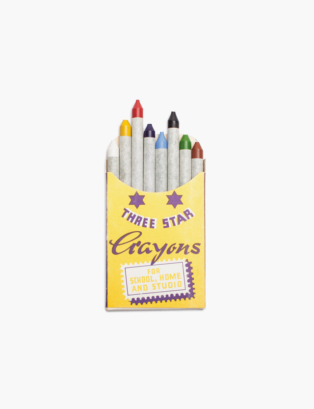 Antica Cartotecnica / Three Stars Wax Crayons