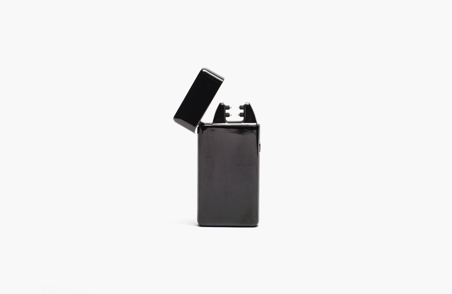 USB Lighter Company / Double Arc Wide Body Lighter in Black Metallic