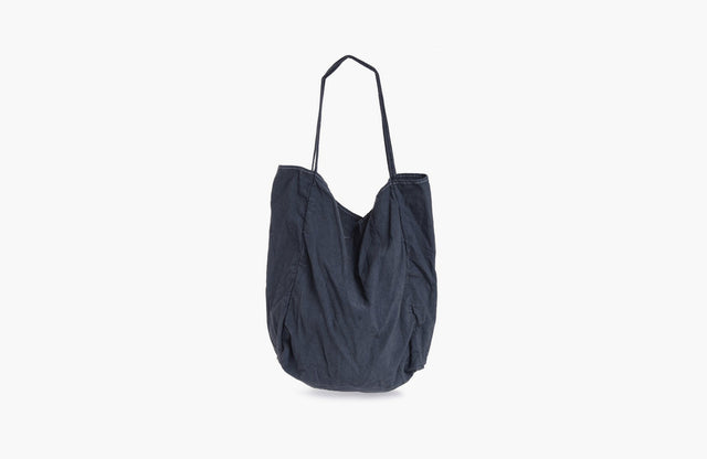 Utility Canvas / Garment Dyed Tote in Charcoal