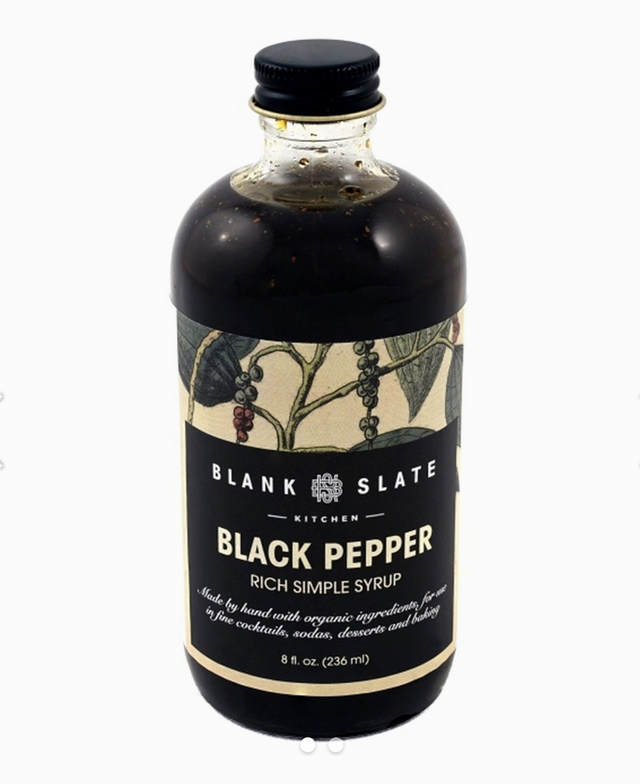 Blank Slate Kitchen / Black Pepper Simple Syrup