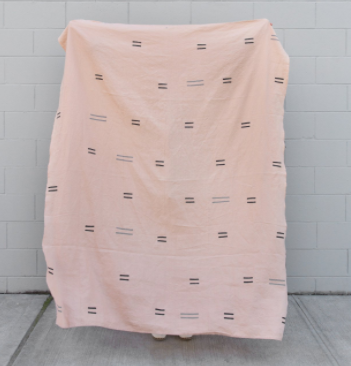 Caroline Z Hurley / Yucatan Pink Throw