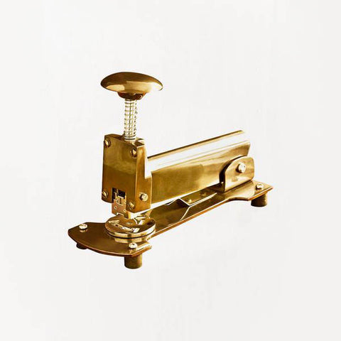Roost / Classic Stapler in Brass