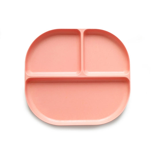 Ekobo / Bambino Divided Tray in Coral