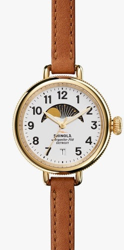 Shinola / The Birdy Moon Phase 34mm