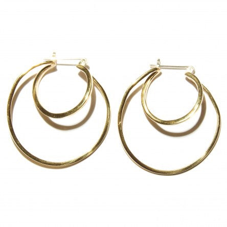 Odette / Risom Hoops in Brass