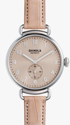 Shinola / The Canfield 38mm in Nude