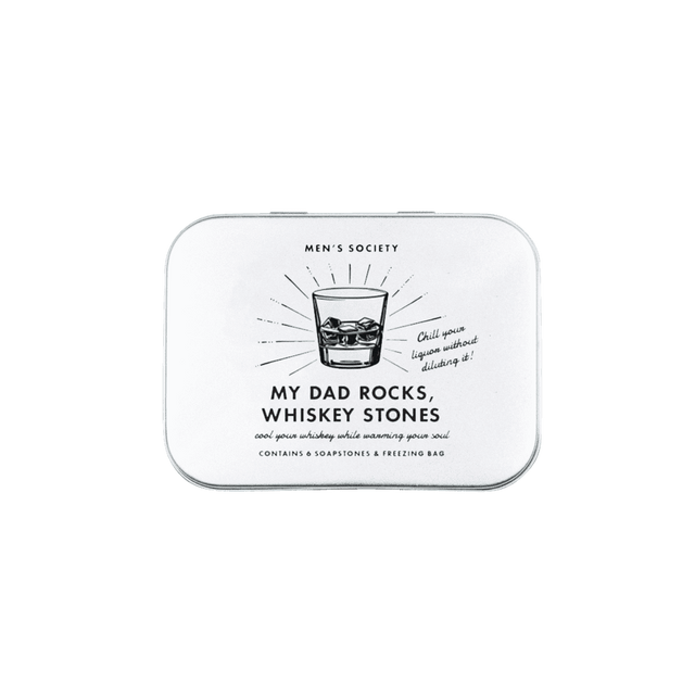 Men's Society / 'My Daddy Rocks' Whiskey Stones