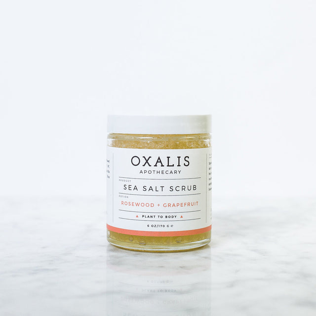Oxalis / Sea Salt Scrub