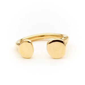 Odette / Tilt Ring (Brass)