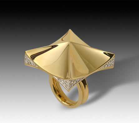 Diana Vincent Pyramid Ring