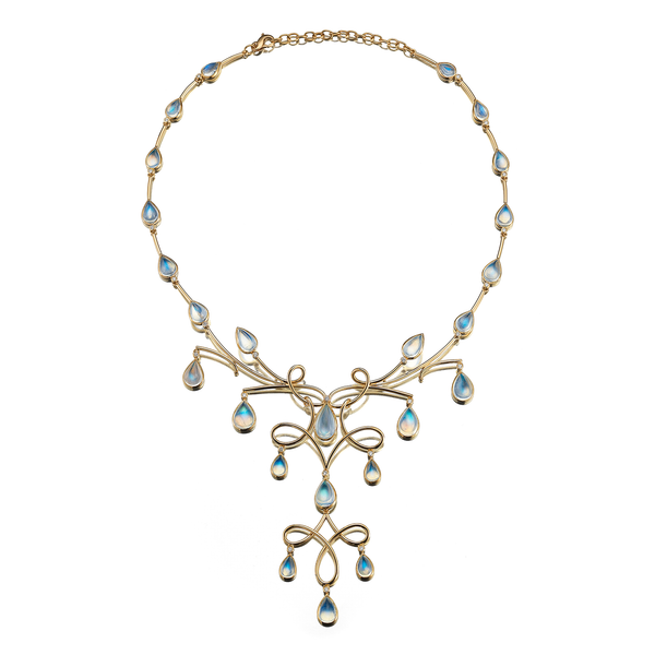 Diana Vincent Kaleidoscope Moonstone Necklace