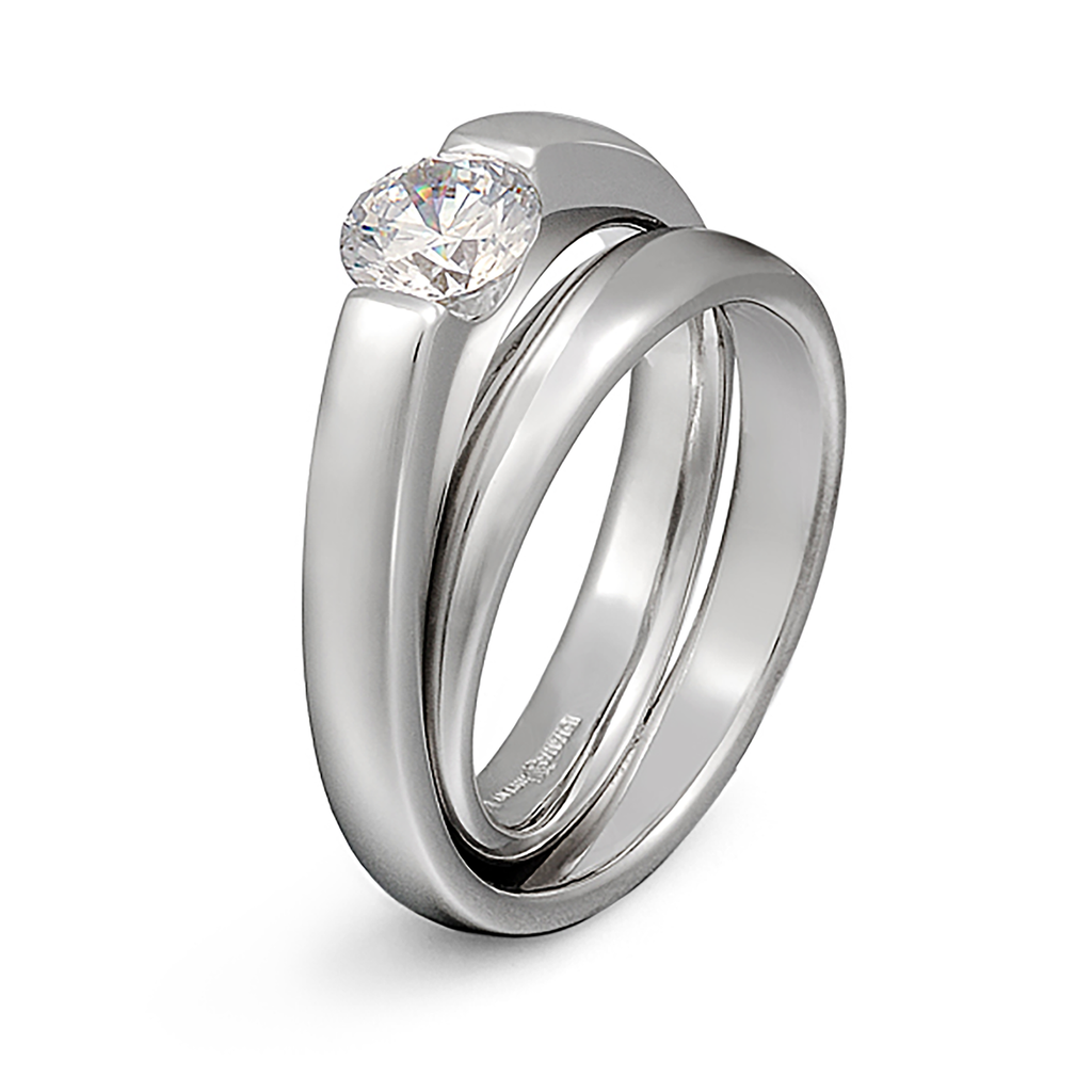 Continuum Diamond Engagement Ring by Diana Vincent