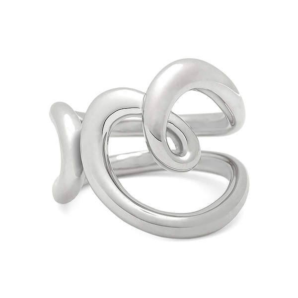 Heart Love Ring in Sterling Silver by Diana Vincent