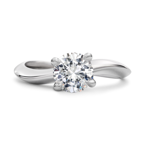 Diamond Solitaire Engagement Ring by Diana Vincent