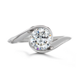Diana Vincent Contour Engagement Ring