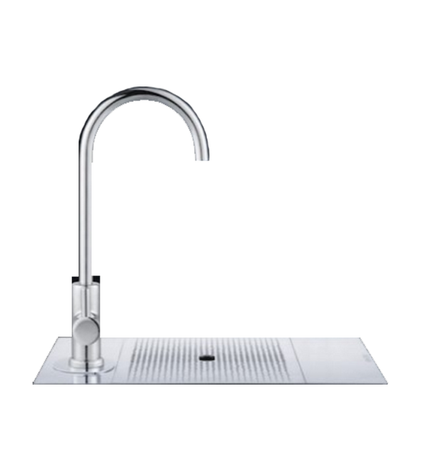 Billi Alpine Sparkling 200 Round Chrome 120 cups Surface Mounted Drinking Water Tap