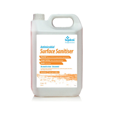 Byotrol Byosan Concentrate Professional Strength Surface Sanitiser - 5 Litre
