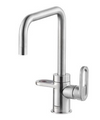 HotSpot Titanium Adrianna 3-in-1 Hot and Cold Tap -  Steel Effect (WEEKLY RENTAL OR PURCHASE)