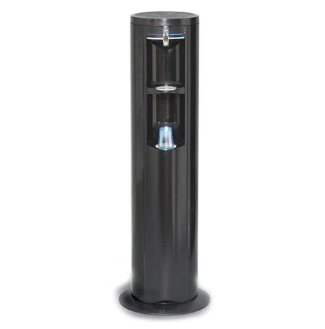 Ebac Fmax Black Floor Standing Mains Fed Water Cooler