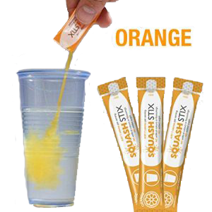 Squash Stix Orange For Cups