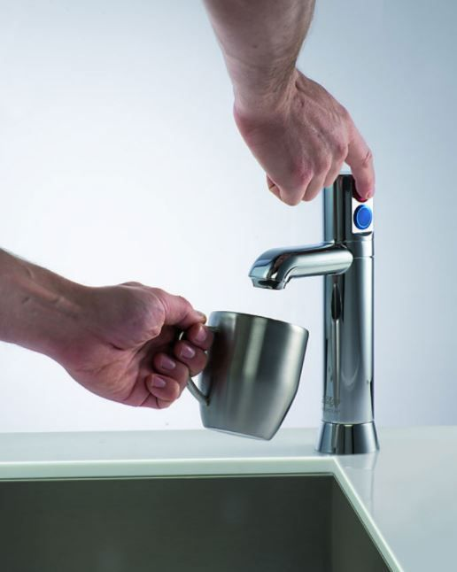 Zip Hydrotap G4 Industrial Side Touch Tap Instant Boiling & Chilled Commercial Surface Mounted Drinking Water Tap