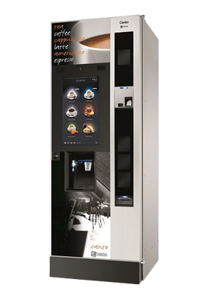 Canto Touch Espresso & Freshbrew Floor Standing Coffee Machine