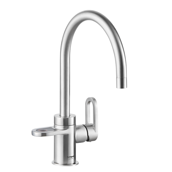 HotSpot Titanium Alessio 3-in-1 Hot and Cold Tap - Steel Effect (WEEKLY RENTAL OR PURCHASE)