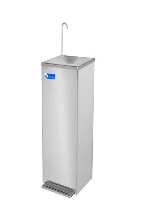 AA First WFP9T Floor Standing Drinking Water Fountain Hands-Free