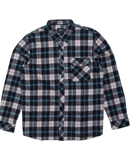 Ripcurl Teller Long Sleeve Flannel Shirt Boys