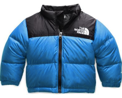 The North Face Toddler Retro Nupste Jacket Clear Lake BLue
